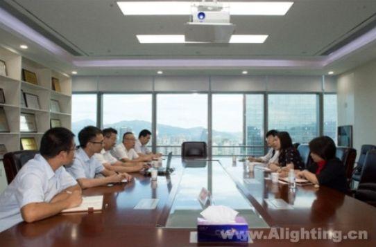 国家知识产权局到斯派克照明调研知识产权保护工作 普洱