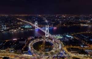 """昕诺飞智能照明系统为上海跨江大桥集体""""换装"""",增添城市夜景新风貌挤出机"""